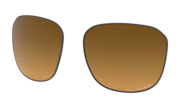 brown gradient polarized