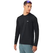 Base Long Sleeve Top - Blackout