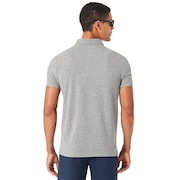 Icon SS Polo - Athletic Heather Gray