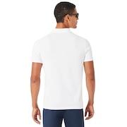 Icon Short Sleeve Polo - White