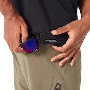 Icon Short Sleeve Polo - Blackout