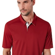 Divisional Golf Polo - Iron Red