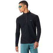 1/4 Zip Baselayer - Blackout