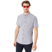 ss Solid Woven Shirt