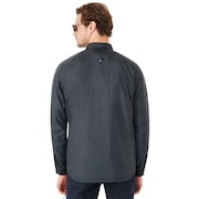 Canyon Long Sleeve Shirt Jacket - Stone Gray