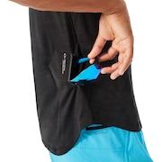 Tech Knit Short Sleeve - Blackout Dark Heather