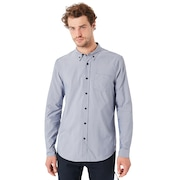 LS Solid Woven Shirt