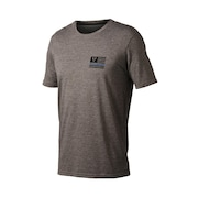 Thin Blue Line Tee - Athletic Heather Gray