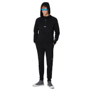 Half Zip Fleece Crossrange Collection - Blackout