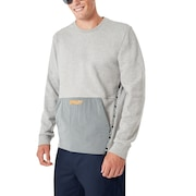 Oakley Fs Crew Fleece - Granite Heather