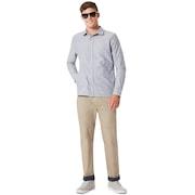 Oakley Fs Oxford Shirt - Stone Gray
