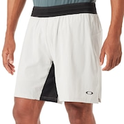 Windshear Running Short - Light Gray
