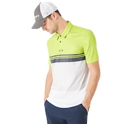 Color Block Take Polo - Lime Green
