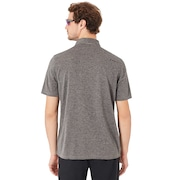 Aero Ellipse Polo - Athletic Heather Gray