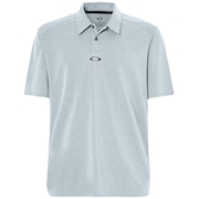Aero Ellipse Polo - Stonewash Light Heather