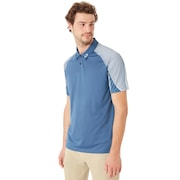Aero Motion Sleeve Polo - Ensign Blue