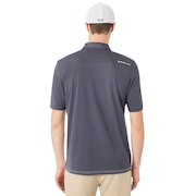 Aero Motion Block Polo - Graphite