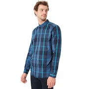 Local Long Sleeve Woven - Ensign Blue