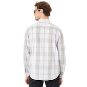 Local Long Sleeve Woven - White