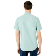 Top Stripe Short Sleeve Woven Shirt - Arctic Surf