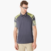 Aero Sleeve Graphic Polo