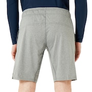 Richter Knit Shorts - Athletic Heather Gray