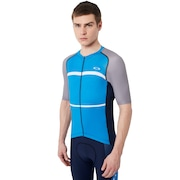 Colorblock Road Jersey - Atomic Blue