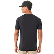 O-Double Stack Tee - Blackout
