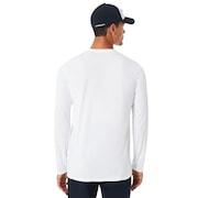 O-Mark II  Long Sleeve Tee - White