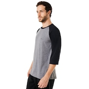 Link 3/4 Sleeve - Athletic Heather Gray