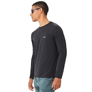 Link Long Sleeve Top - Blackout