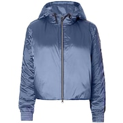 Oakley Luxe Nylon Puffy Jacket - Blue Indigo
