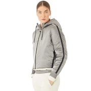 Oakley Luxe Nylon Puffy Jacket - Stone Gray