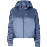 Oakley Luxe Nylon Puffy Jacket - Blue Indigo