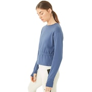 Oakley Luxe Crewneck Fleece - Blue Indigo