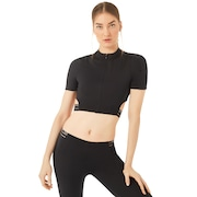 Oakley Luxe Crop Zip Top