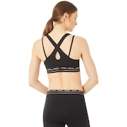 Oakley Luxe Strappy Bra - Blackout
