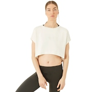Oakley Luxe Crop Top - Winter Gray