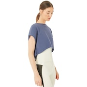Oakley Luxe Crop Top - Blue Indigo