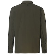 Utility LS Nylon Shirt - Dark Brush