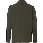 Utility LS Nylon Shirt - Dark Brush