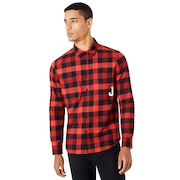 Icon Flanel Long Sleeve Shirt