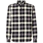 Icon Flanel Long Sleeve Shirt - Blackout