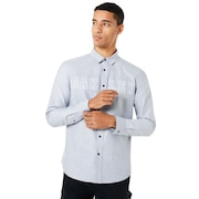 Icon Oxford Logo LS Shirt