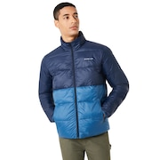 Puffer Block Color Utility Jacket
