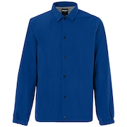 Nylon Icon Coach Jacket - Dark Blue