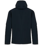 Hooded Utility 3L FZ Jacket - Blackout