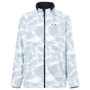 Enhance Graphic Wind Warm Jacket 8.7 - White Print