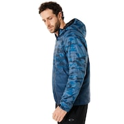 Enhance Insulation Quilting Jacket 8.7 - Blue Storm Print