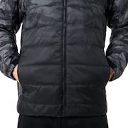 Enhance Insulation Quilting Jacket 8.7 - Black Print